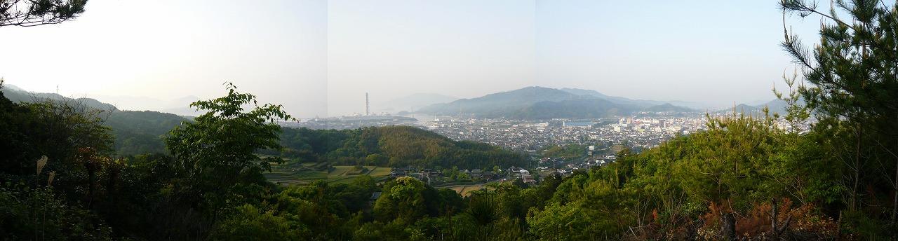 柳井市街が一望できます♪山本しげたろう(山本繁太郎)の写真☆